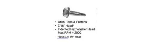 Self Drill & Tap Tek Screws